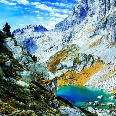 Rando aux lacs de Batcrabère dans le Val d'Azun